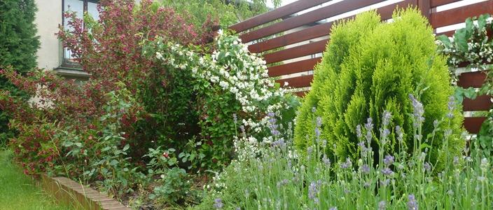 zahrada je pohodou domova, ...